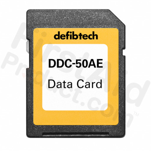 Defibtech Medium Capacity Data Card (50-minutes, Audio)