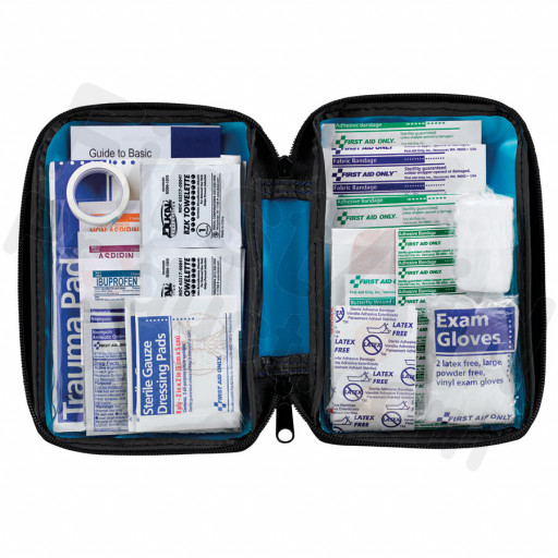 All Purpose First Aid Kit, Softsided, 81 pc - Small