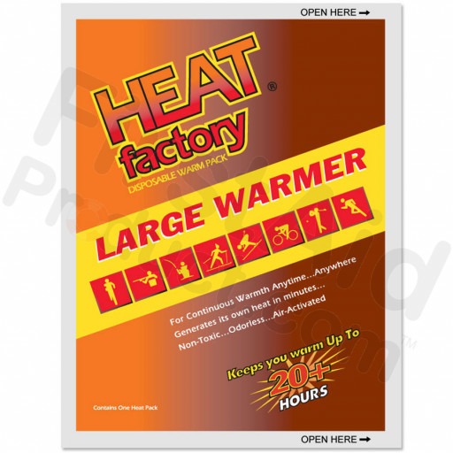 Heat Factory Large Warmer, 1 each
