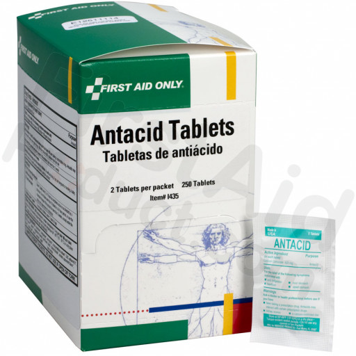 Antacid Tablets - 250 per box