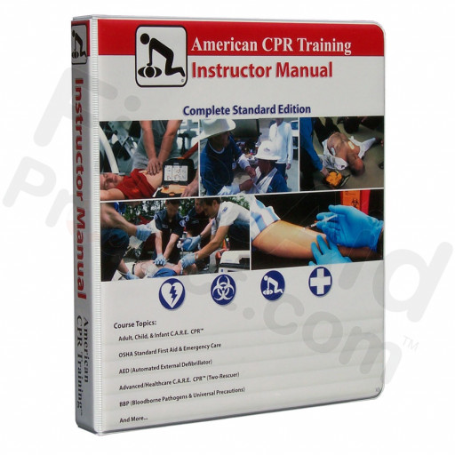 American CPR Training Instructor Manual ~ Complete Standard Edition V3