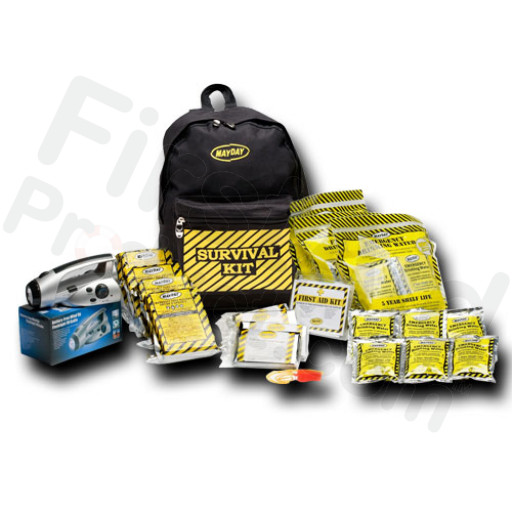 Economy Emergency Kit - 3 Person - Backpack