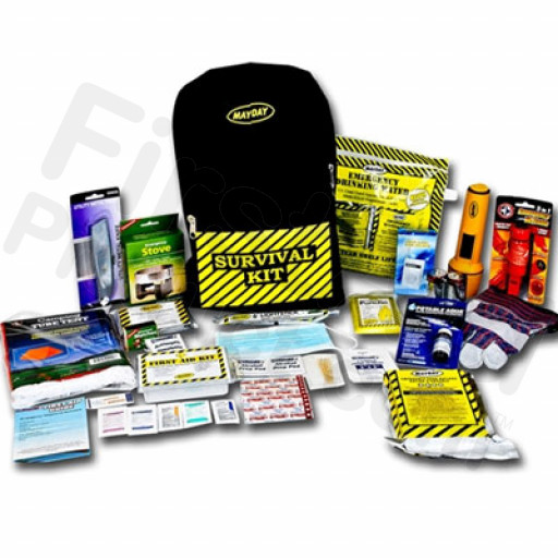 1 Person Deluxe Emergency Backpack Kit