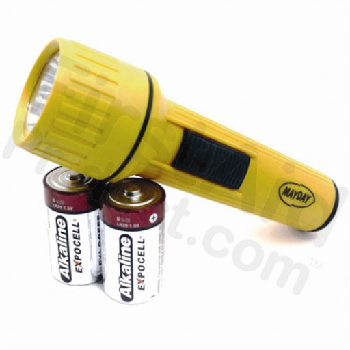 Flashlight Uses D Size Batteries