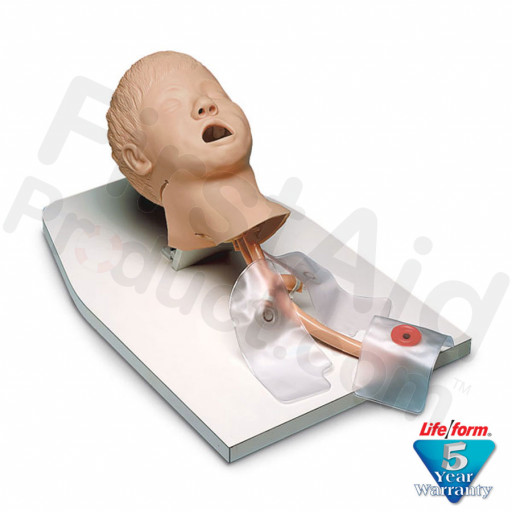 Child Airway Management Trainer on Stand with case (Resusci Junior)