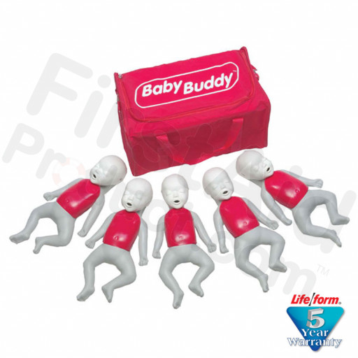 Baby Buddy Infant CPR Manikin - 5 Pack