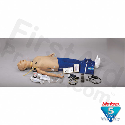 Adult CRiSis Auscultation Manikin with ECG Simulator
