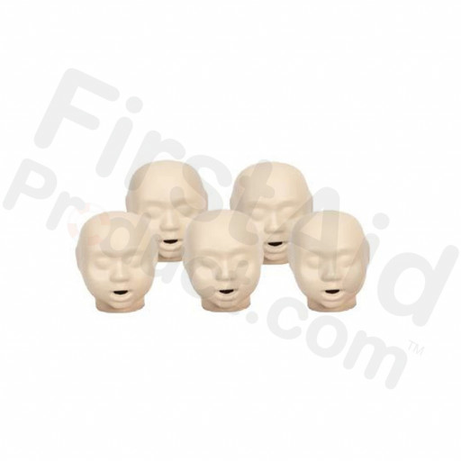 CPR Prompt Brand 5-pack Infant heads - Tan