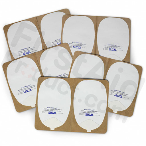 Foam Electrode Peel-Off Pads- Philips Heartstream Style
