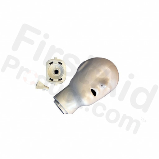 CPR Prompt Brand Adult/Child Head Assembly - Tan Manikin