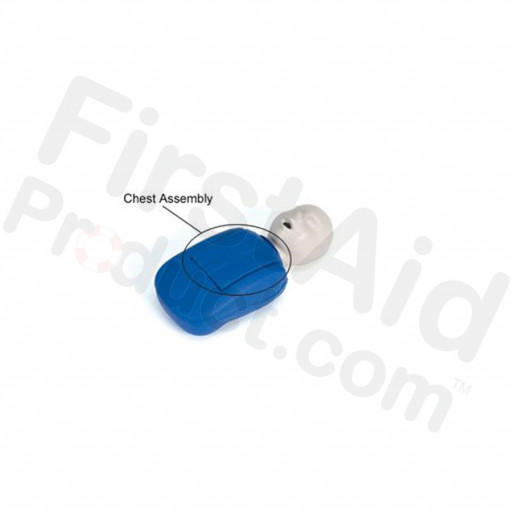 CPR Prompt Brand Blue Coated Infant Chest Assembly
