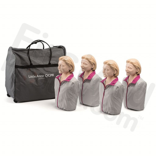 Laerdal Little Anne QCPR Adult CPR Manikin - 4 pack