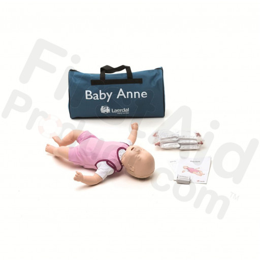 Laerdal Baby Anne Infant CPR and Choking Manikin - Light Skin