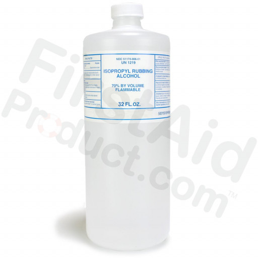 Isopropyl Alcohol, 70%, 32 oz. - 1 Each