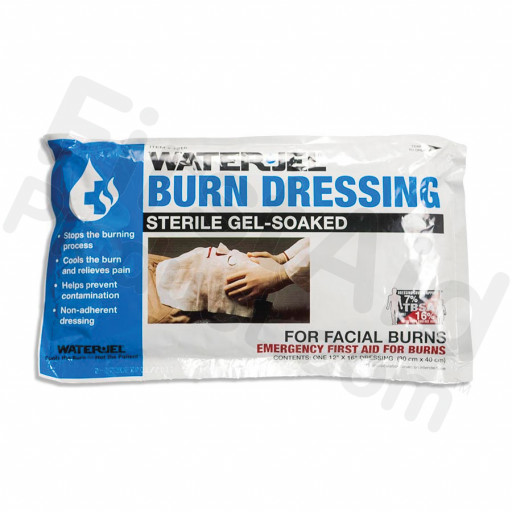 "Water Jel Brand Face Burn Dressing - 12"" x 16"""