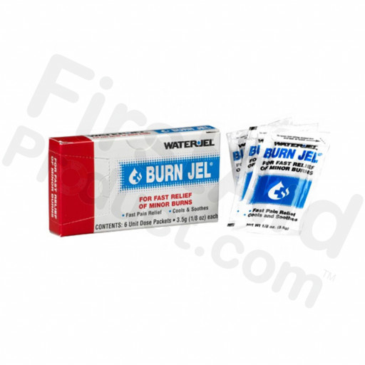 Water Jel Brand Burn Jel Burn Relief, 3.5 gm. - 6 per box