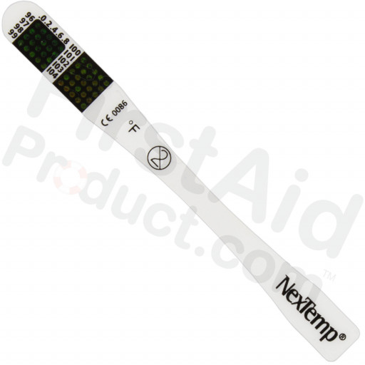 """Thermometer, 3-1/2"""" disposable, single-use, 1 each"""