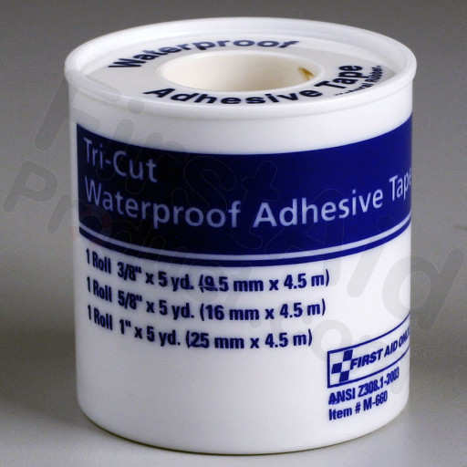First Aid Tape, 3-Cut Plastic Spool, 1 each