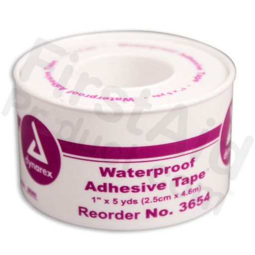 "1""x5 yd. Waterproof tape, plastic spool, 1 ea."