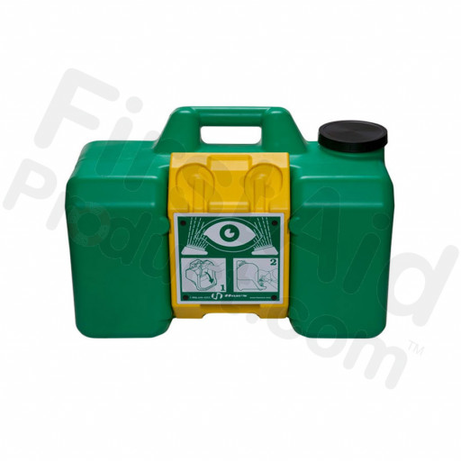 HAWS 15 minute portable eye wash station, 1 ea.