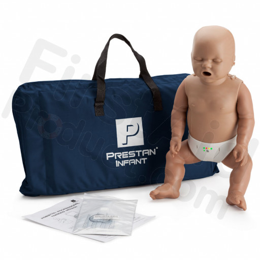 Prestan Infant CPR Manikin w/ Monitor - Dark Skin