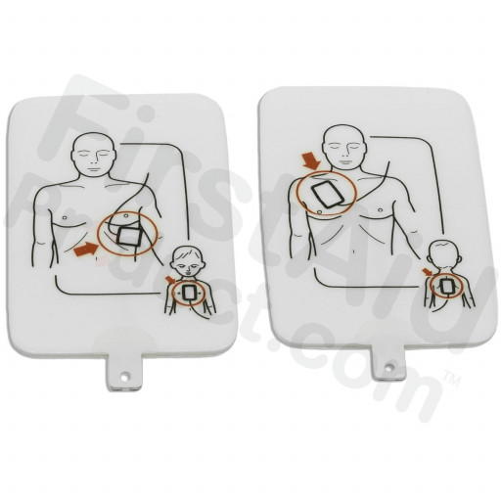Prestan Professional AED UltraTrainer Pads, 1 Set