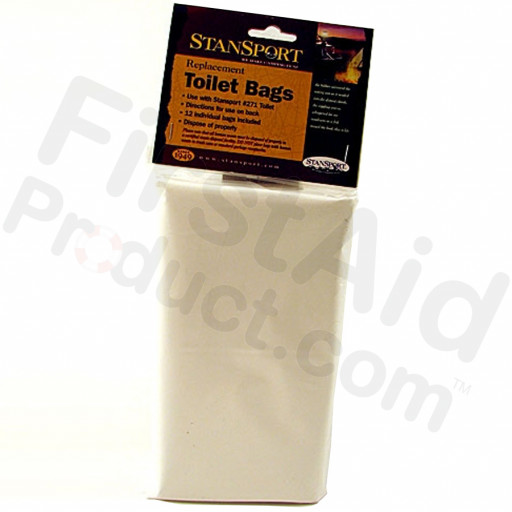 Toilet Bags Pack of 12