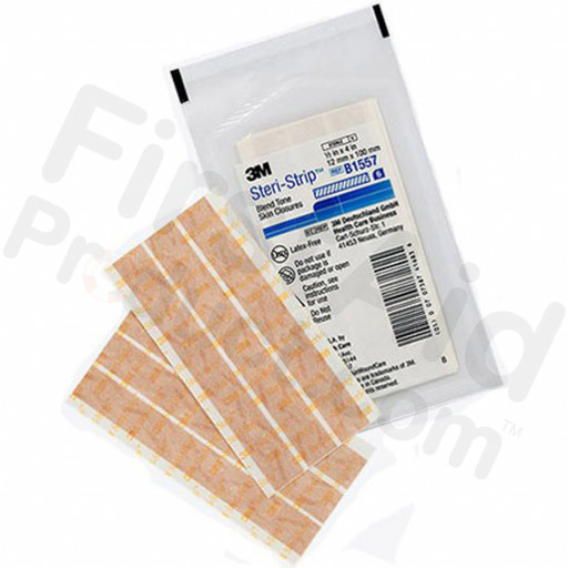 "1/2"" x 4"" 3M Steri-Strip Adhesive Skin Closures, 6 ENV"