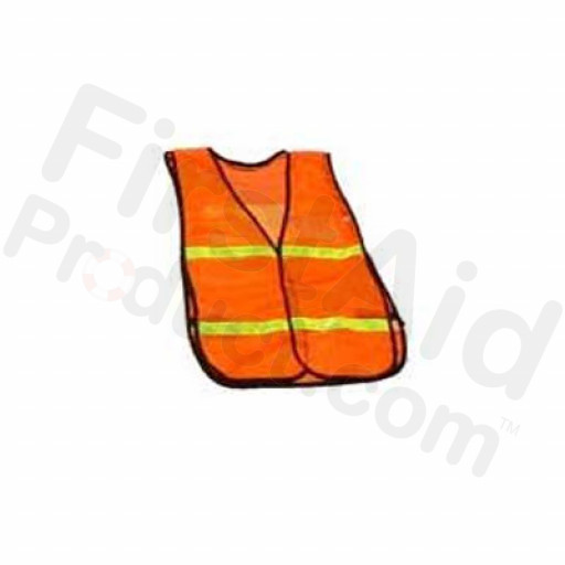 Safety Vest with a Clear Insert