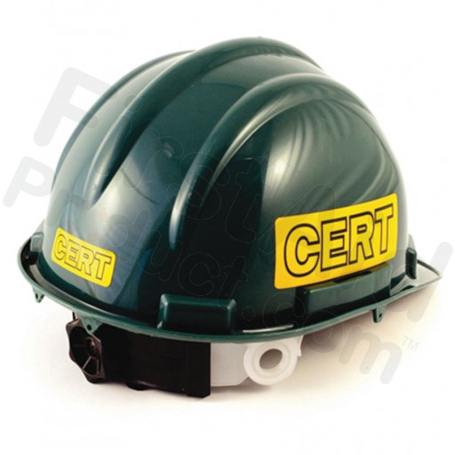 C.E.R.T. Deluxe Hard Hat - 5 Point Suspension