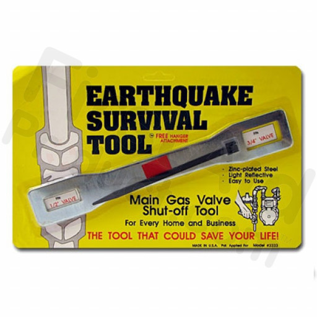 Gas Shutoff Wrench