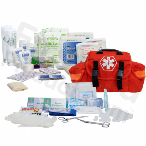 147 Piece First Responder Kit (On Call Kit) - Orange