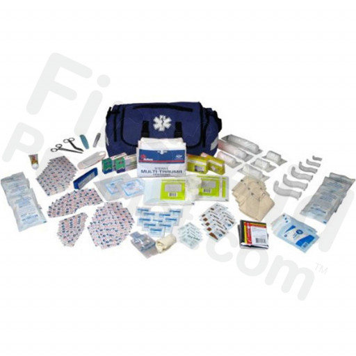 147 Piece First Responder Kit (On Call Kit) - Blue