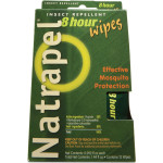 The Natrapel Display Box come with 12 Individually-wrapped and easy-to-apply wipes are perfect for Portable Protection in packs, pockets, or purses.