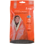 The Survive Outdoors Longer® Emergency Blanket - convenient packaging for retail display