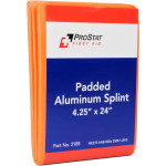 "Padded Aluminum Foam Splint, 4.25"" x 24"", Reusable, 1 Each"