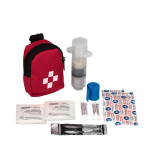 Clip-On First Aid Snake Bite Kit, 9 Pieces