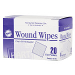 Antiseptic Wipes, 20 Per Box