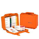 16 Unit ANSI A First Aid Kit, Plastic, Waterproof