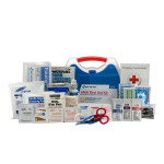 25 Person ReadyCare ANSI A First Aid Kit, Plastic Case
