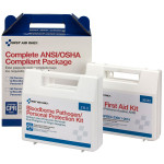 25 Person Complete ANSI/OSHA Compliance Package (First Aid and BBP)