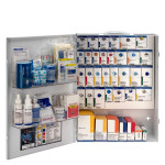 XL Metal Smart Compliance Food Service First Aid Cabinet without Meds
