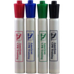 AEHS Dry Erase Pens- 4 pack (Red, Green, Blue, & Black)