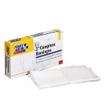 "Compress Bandage, Off Center, 2"" - 4 per box"