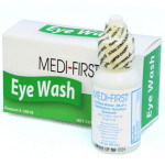 Eye wash, 1 oz. plastic bottle, 1 per double unit box