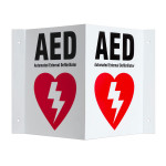 Three-way Wall Sign