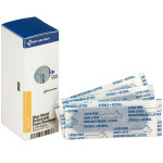 "1"" x 3"" Blue Foam Metal Detectable Bandages, 25 each"
