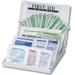 34 Piece All Purpose First Aid Kit - Plastic Case Mini