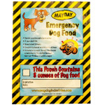 Emergency Dog Food