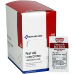 First Aid/Burn Cream, .9 gm. - 144 per box